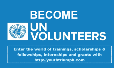 BECOME A UNITED NATIONS VOLUNTEER_VOLUNTEEERING_youthtriumph.com