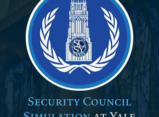 Security Council Simulation at Yale