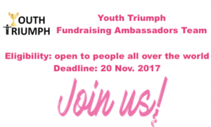 Youth Triumph Fundraising Ambassadors Team