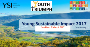 Young Sustainable Impact 2017_Youth Triumph