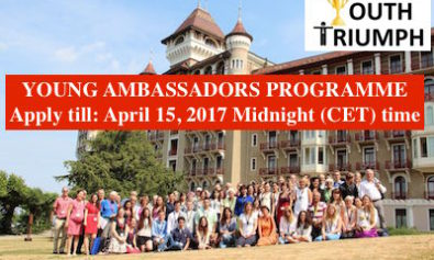 YOUNG AMBASSADORS PROGRAMME_Youth Triumph 1