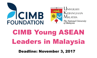 Youth Triumph_CIMB Young ASEAN Leaders in Malaysia_1