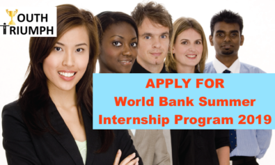 Youth_Triumph_World Bank Summer Internship 2019