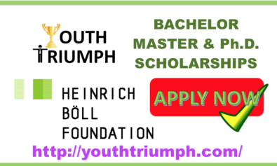 HEINRICH BÖLL FOUNDATION SCHOLARSHIPS_BACHELOR_MASTER_PH.D_youthtriumph.com