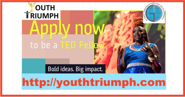 APPLY TO BE A TED FELLOW_Training_youthtriumph.com