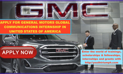 APPLY FOR GENERAL MOTORS GLOBAL COMMUNICATIONS INTERNSHIP IN UNITED STATES OF AMERICA_Global Communications - Intern - Bachelors - COM0001083_Internship_youthtriumph.com