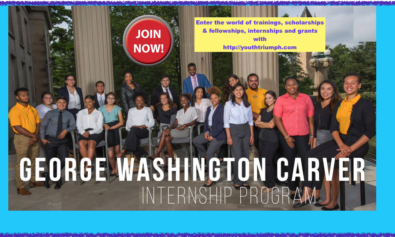 APPLY FOR THE WORLD FOOD PRIZE GEORGE WASHINGTON CARVER INTERNSHIP IN UNITED STATES OF AMERICA_youthtriumph.com