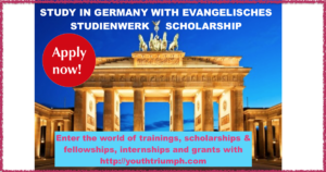 STUDY IN GERMANY WITH EVANGELISCHES STUDIENWERK SCHOLARSHIP_youthtriumph.com