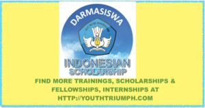 STUDY IN INDONESIA WITH 2020 DARMASISWA SCHOLARSHIP_youthtriumph.com